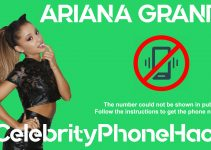 ariana grande real phone number hacked