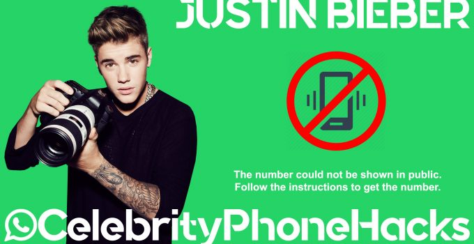 justin bieber phone number real leaked hacked whatsapp celebrity