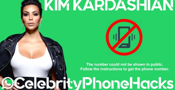 kim kardashian telephone number 2019 public by hack