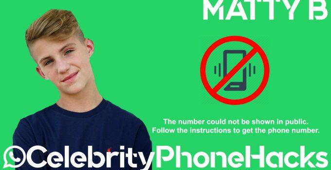 matty baby phone number mattyb 2019 MattyBRaps