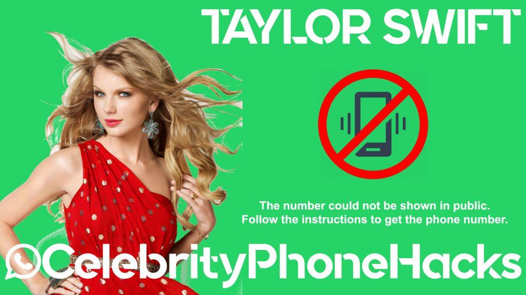 taylor swift celebrityphonehacks 2019 phone number hacked