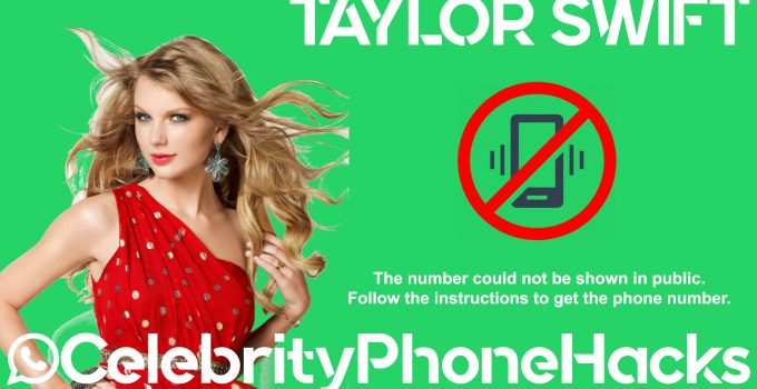 taylor swift celebrityphonehacks 2019 phone number hacked