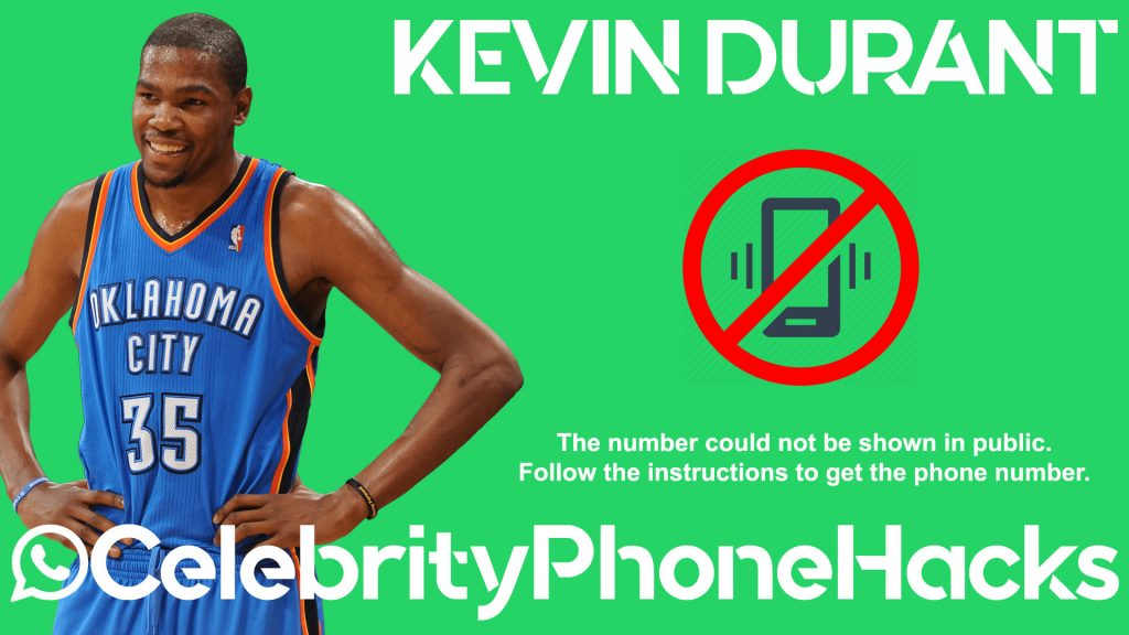 kevin durant real phone number 2019 hacked leaked 2020 warriors canada