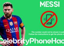 messi real phone number now whatsapp hacked leaked in public