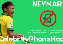 neymar brasil psg real phone number leaked celebrity