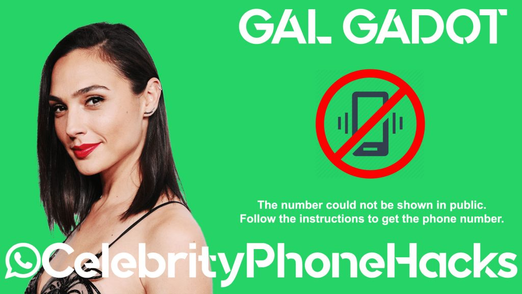 gal gadot phone number leaked 2019 celebrity phone hacks