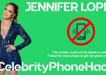 jennifer lopez real phone number 2019 leaked in public by hacker