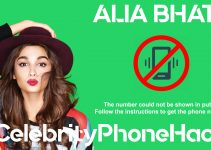 what is alia bhatt real phone number 2019