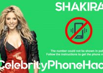 what is shakira phone number now 2019 whatsapp leaked