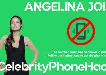 Angelina Jolie real phone number 2019 whatsapp hacked leaked