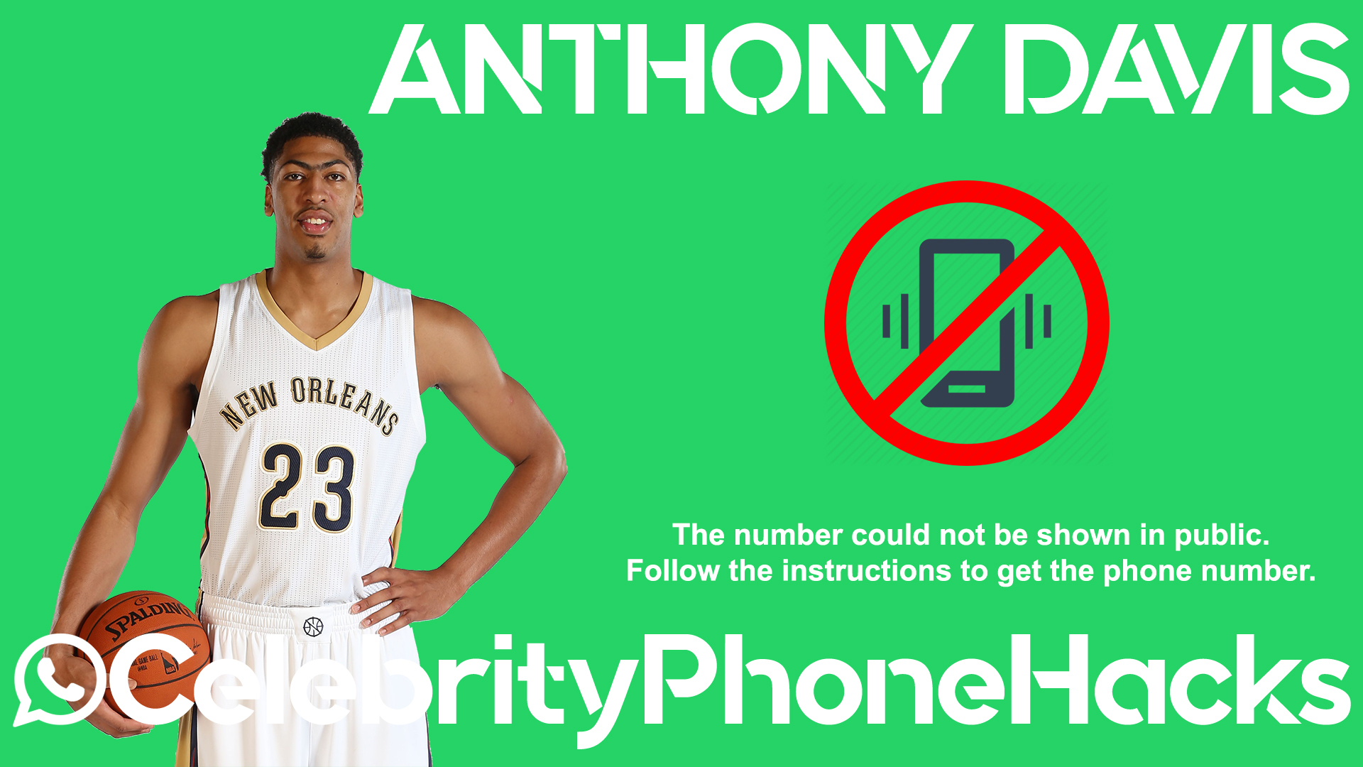 Anthony Davis real phone number 2019 whatsapp hacked leaked