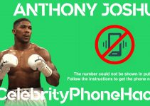 Anthony Joshua real phone number 2019 whatsapp leaked hacked