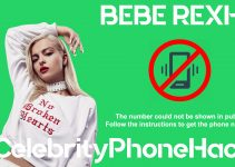 Bebe Rexha real phone number 2019 whatsapp hacked leaked