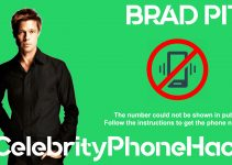 Brad Pitt real phone number 2019 whatsapp hacked leaked