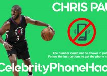 Chris Paul real phone number 2019 whatsapp hacked leaked