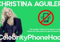Christina Aguilera real phone number 2019 whatsapp hacked leaked
