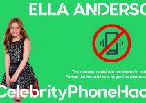 Ella Anderson real phone number 2019 whatsapp hacked leaked