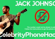 Jack Johnson real phone number 2019 whatsapp hacked leaked