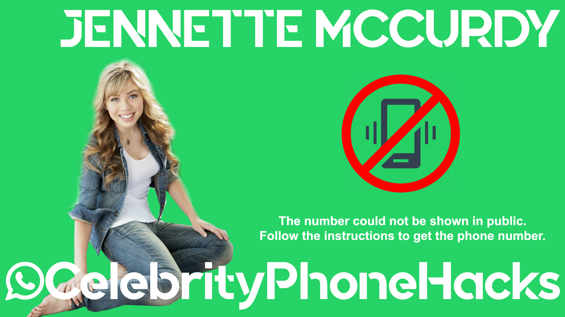 Jennette Mccurdy real phone number 2019 whatsapp hacked leaked