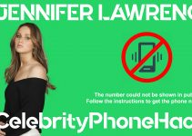 Jennifer Lawrence real phone number 2019 whatsapp hacked leaked