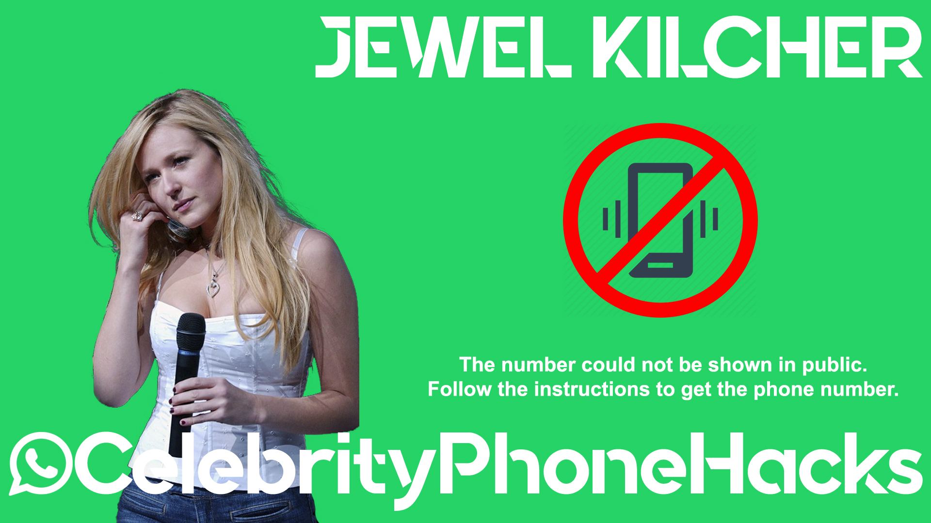 Jewel Kilcher real phone number 2019 whatsapp hacked leaked