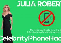 Julia Roberts real phone number 2019 whatsapp hacked leaked