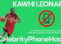 Kawhi Leonard real phone number 2019 whatsapp hacked leaked