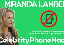 Miranda Lambert real phone number 2019 whatsapp hacked leaked