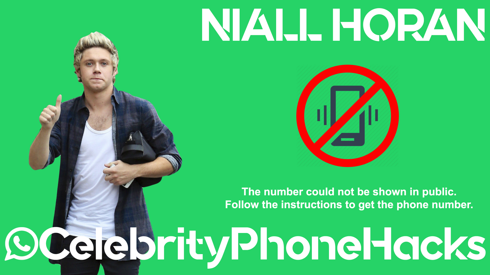 Niall Horan real phone number 2019 whatsapp hacked leaked
