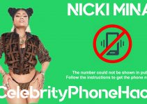 Nicki Minaj real phone number 2019 whatsapp hacked leaked