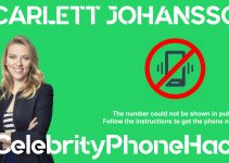 Scarlett Johansson real phone number 2019 whatsapp hacked leaked