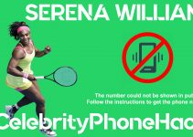 Serena Williams real phone number 2019 whatsapp hacked leaked