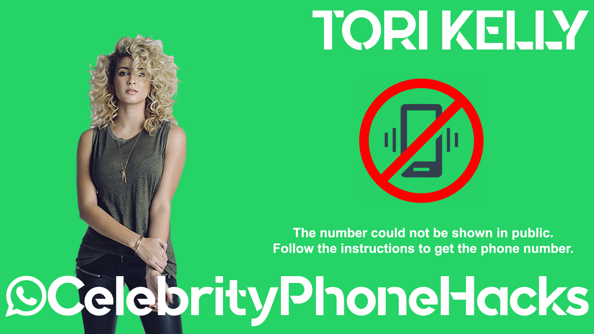 Tori Kelly real phone number 2019 whatsapp hacked leaked