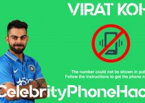 Virat Kohli real phone number 2019 whatsapp hacked leaked