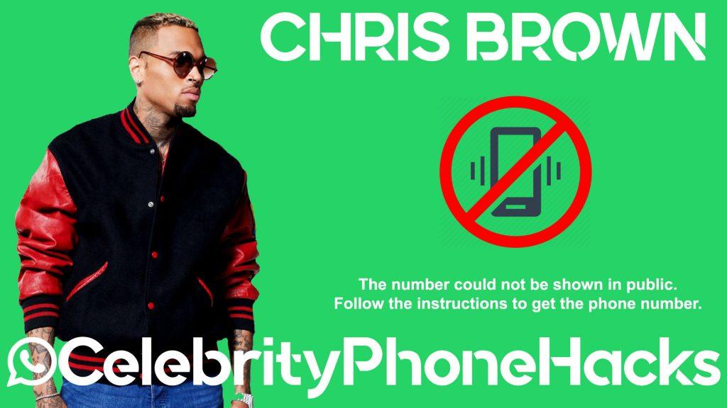 chris brown real phone number 2019 celebrityphonehacks
