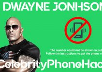dwayne johnson real phone number 2019 public by hack