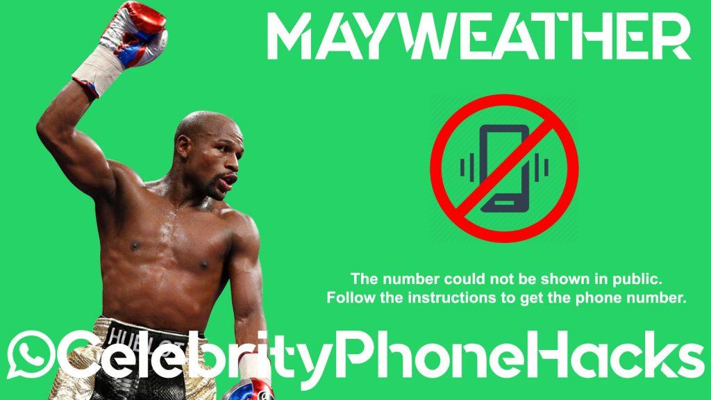 floyd mayweather real phone number 2019 celebrityphonehacks