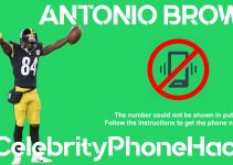 Antonio Brown real phone number 2019 whatsapp hacked leaked