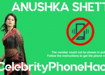 Anushka Shetty real phone number 2019 whatsapp hacked leaked