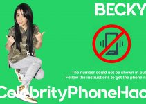 Becky G real phone number 2019 whatsapp hacked leaked
