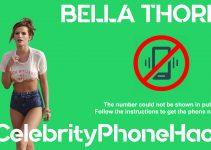 Bella Thorne real phone number 2019 whatsapp hacked leaked