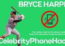 Bryce Harper real phone number 2019 whatsapp hacked leaked