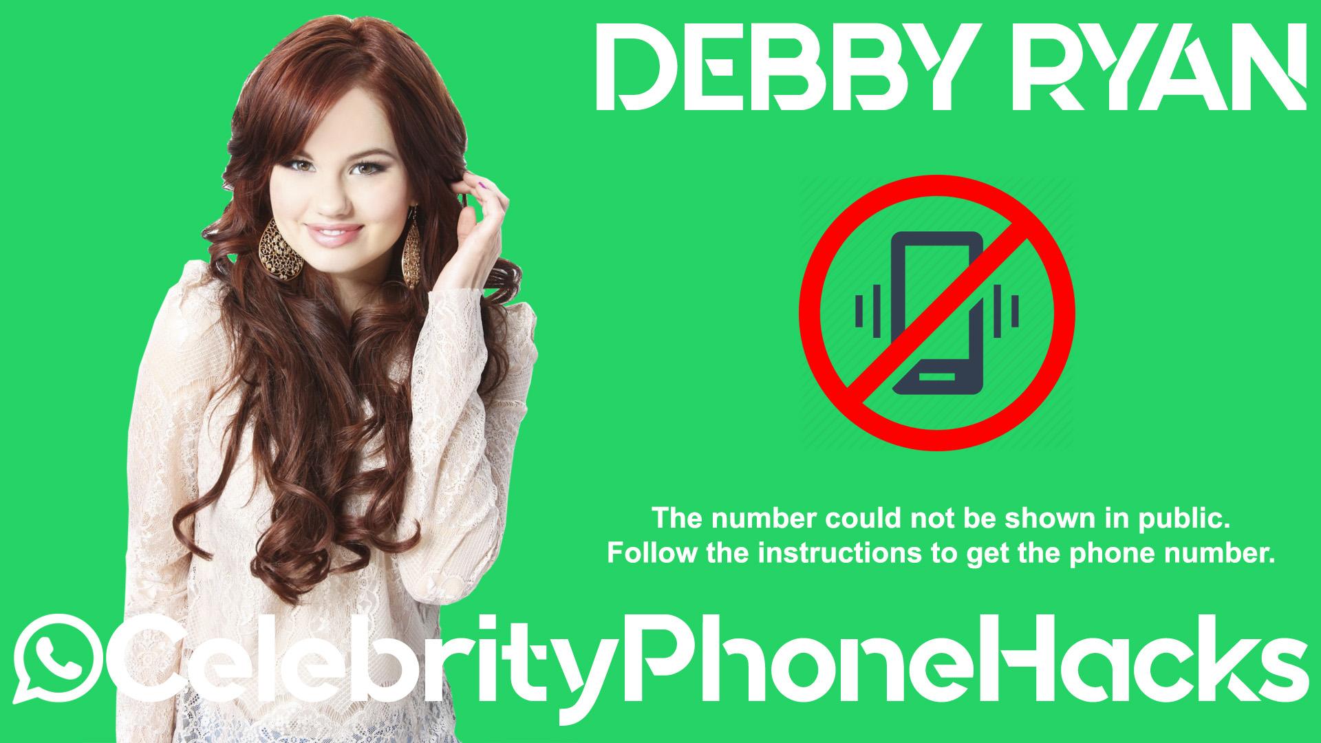 Debby Ryan real phone number 2019 whatsapp hacked leaked