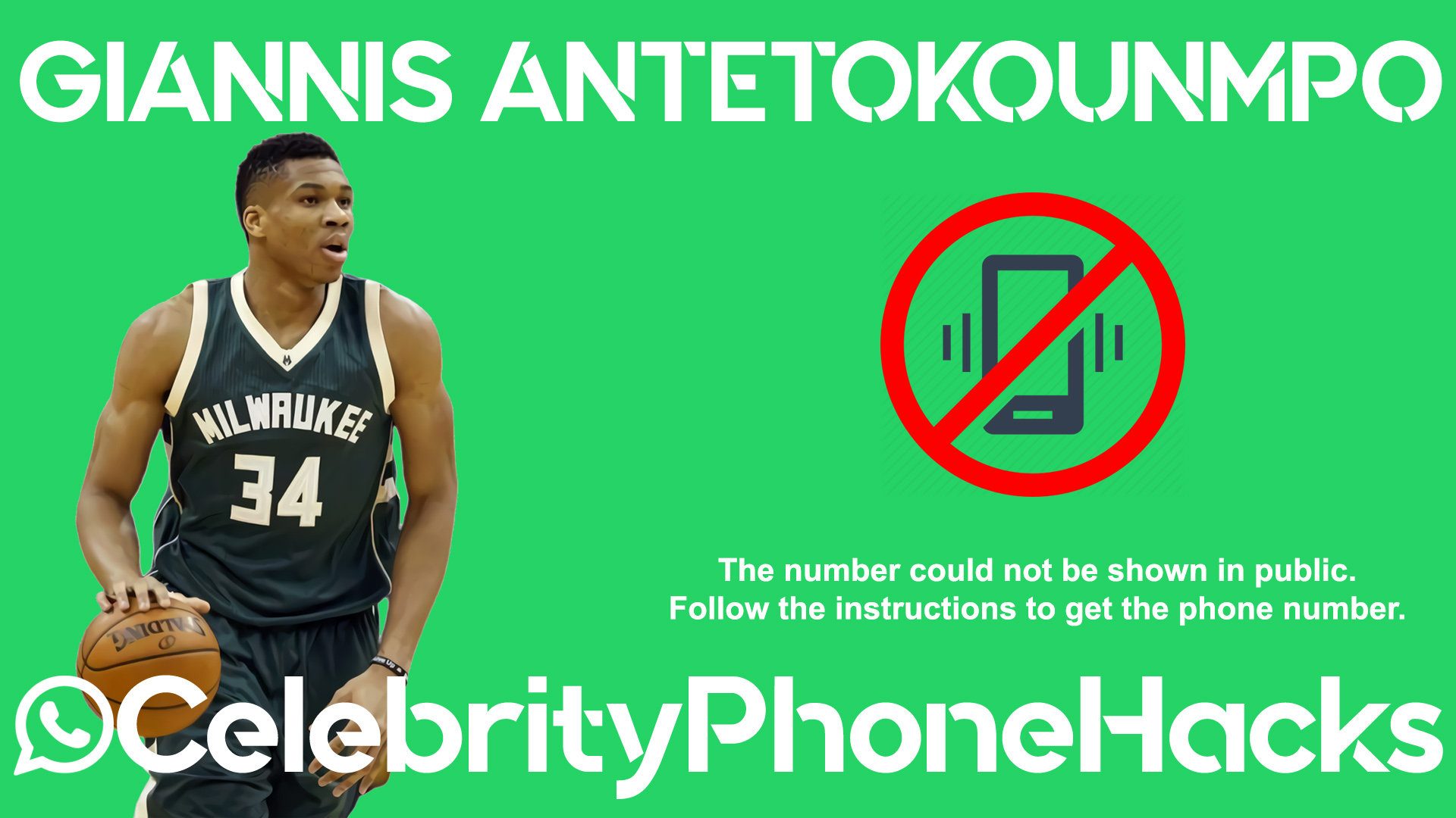 Giannis Antetokounmpo Phone Number Leaked Celebrity Phone