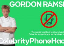 Gordon Ramsey real phone number 2019 whatsapp hacked leaked