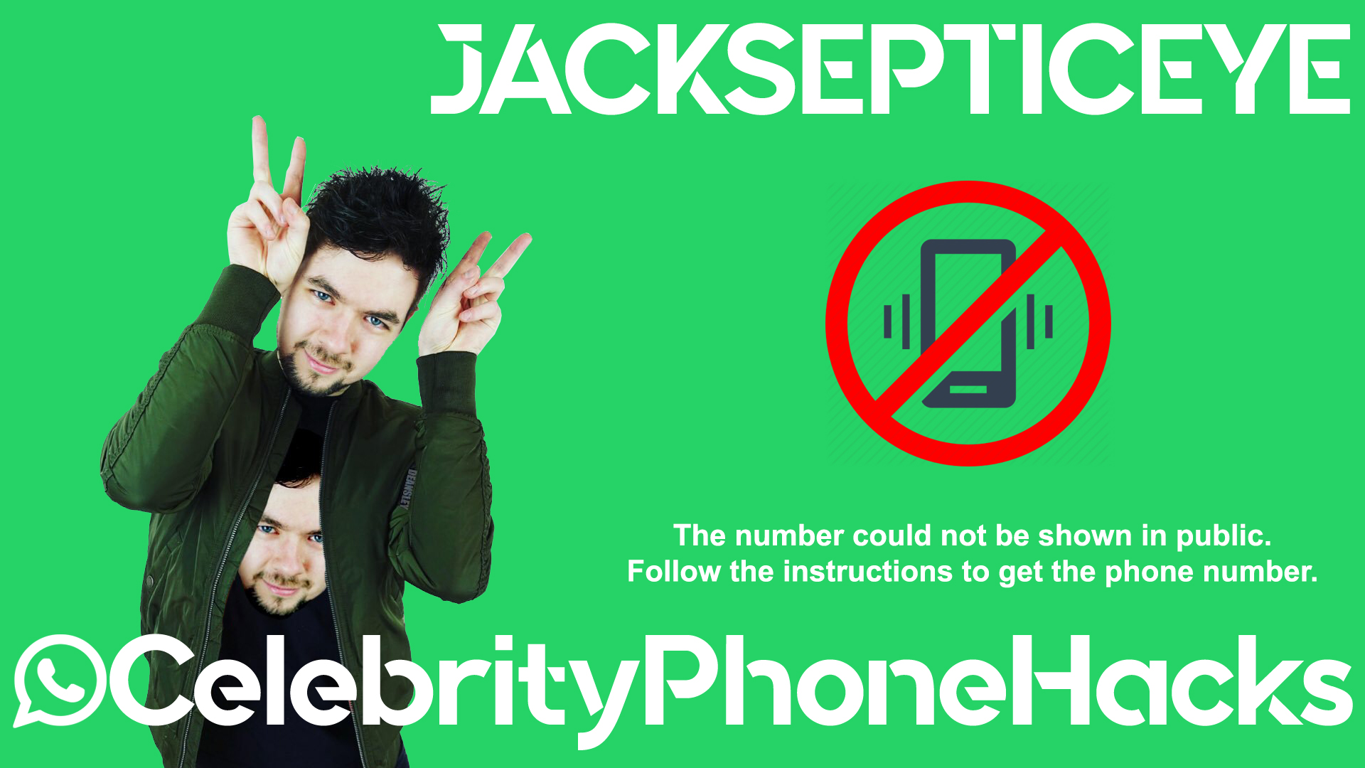 JackSepticEye real phone number 2019 whatsapp hacked leaked