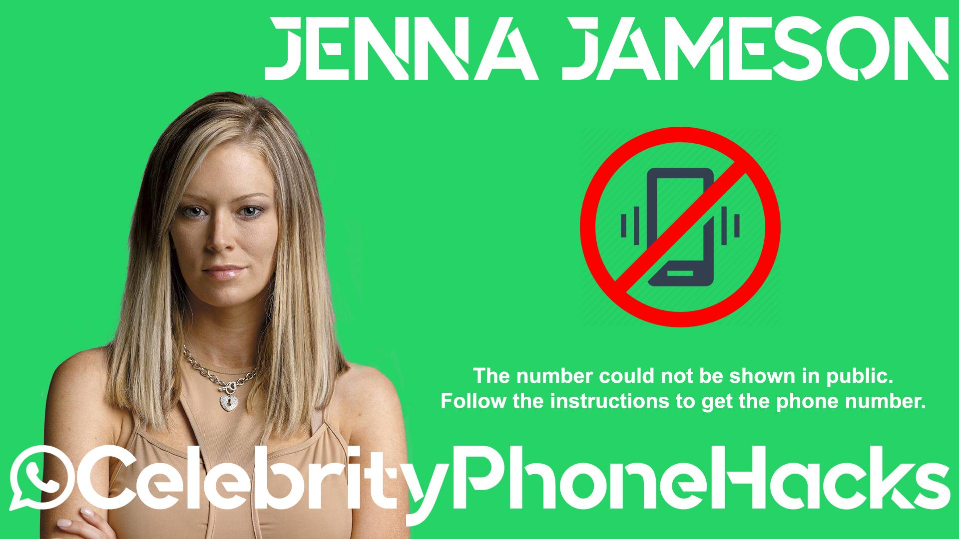 Jenna Jameson real phone number 2019 whatsapp hacked leaked