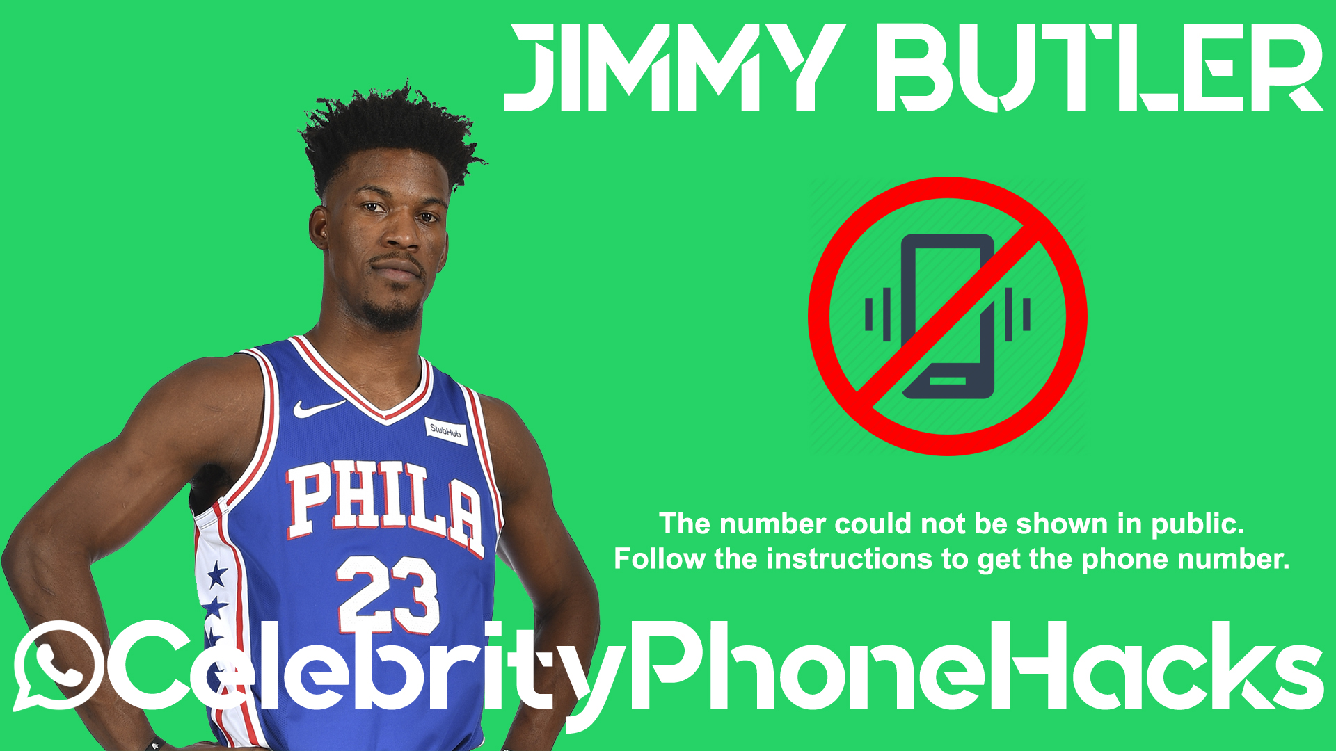 Jimmy Butler real phone number 2019 whatsapp hacked leaked