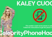 Kaley Cuoco real phone number 2019 whatsapp hacked leaked