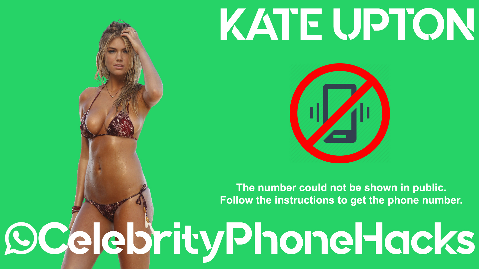 Kate Upton real phone number 2019 whatsapp hacked leaked